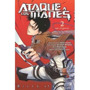 Ataque a los Titanes: No Regrets nº 01