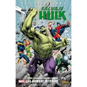 100% Marvel. Salvaje Hulk 1 - El hombre interior