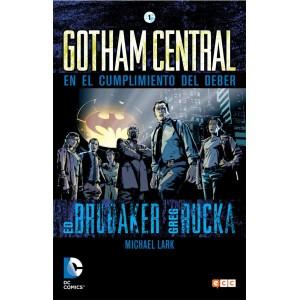 Gotham Central nº 01 (de 4): En el cumplimiento del deber