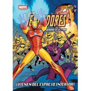Los Vengadores: Los Héroes Más Poderosos de La Tierra - ¡Vienen del espacio interior!