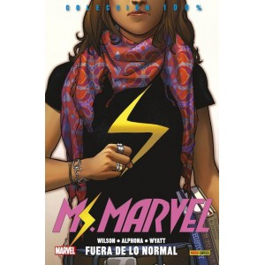 100% Marvel. Ms. Marvel 1 - Fuera de lo normal