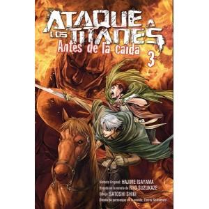 Ataque a los Titanes: Antes de la Caída nº 02