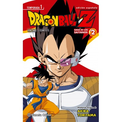 Dragon Ball Z Anime Series Saiyan nº 02
