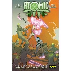 Atomic Robo nº 07 Atomic Robo y la espada salvaje de Dr. Dinosaur
