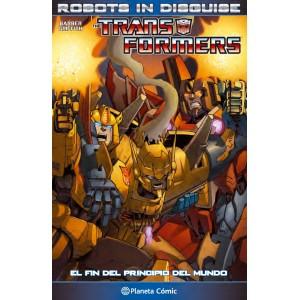 Transformers Robots in Disguise nº 01 Lección de autonomía
