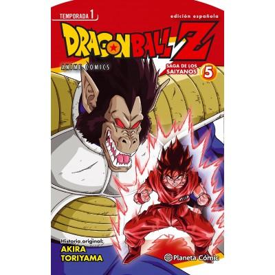 Dragon Ball Z Anime Series Saiyan nº 04