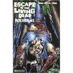Escape of the living dead. Airbone (Novela gráfica) Tapa blanda