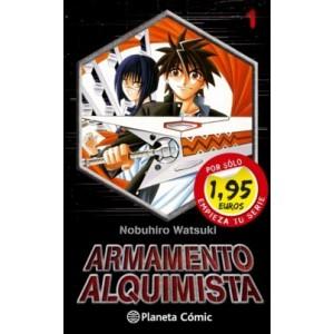Armamento Alquimista Nº 01 Promo Shonen