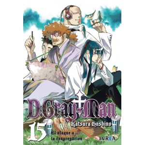 D.Gray-man nº 15