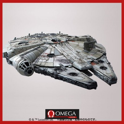 Star Wars the Force Awakens - Maqueta Millenium Falcon 1/144