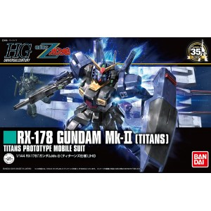 HGUC GUNDAM RX-178 MK II TITANS 1/144