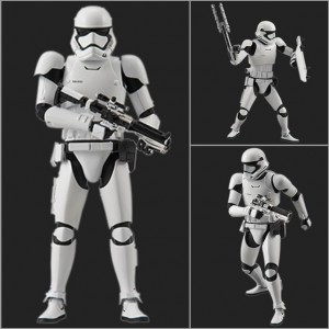 Star Wars The Force Awakens - Maqueta First Order Stormtrooper 1/12