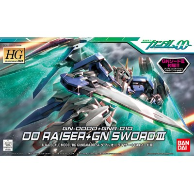 HG 00 RAISER+GN SWORD 1/144