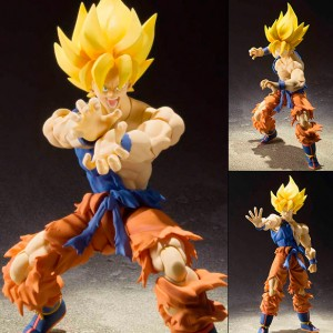 Dragon Ball Z SH Figuarts - Super Saiyan Son Goku Super Warrior Awakening Ver.