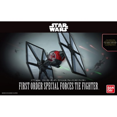 Star Wars The Force Awakens - Maqueta First Order Special Force TIE Fighter