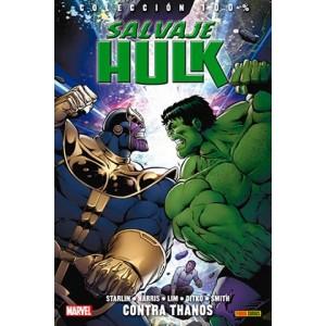 Salvaje Hulk Contra Thanos