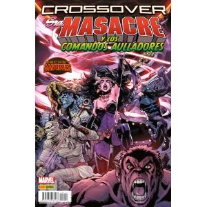 Secret Wars: Crossover 11. Sra Masacre y los Comandos Aulladores
