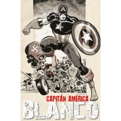 capitan america white