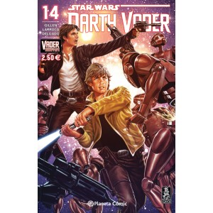 Darth Vader nº 14 (Vader derribado 4 de 6)