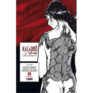 Kasajiro, el clava-tatamis nº 02 de 2