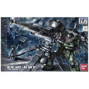 HG ZAKU MASS PR BIG GUN THUND ANIM 1/144