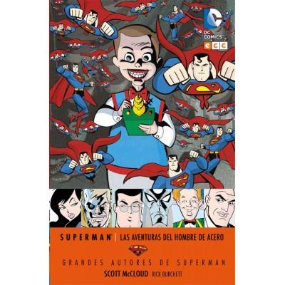 Grandes autores de Superman: Scott Mcloud las aventuras del hombre de acero.jpg
