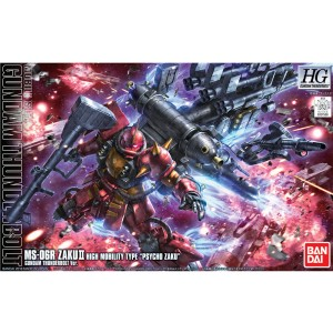 HG ZAKU HIGH MOB THUNDER ANIME VER 1/144