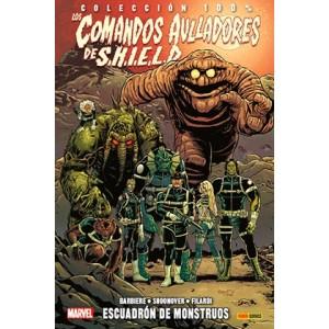 100% Marvel. Los Comandos Aulladores de Shield: Escuadron de Monstruos