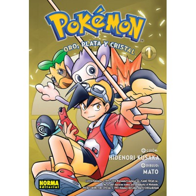 Pokemon nº 05. Oro Plata y Cristal