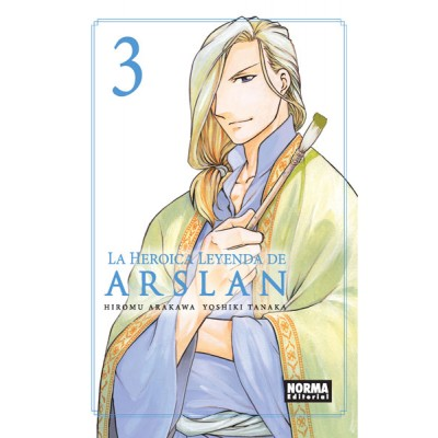 La Heroica Leyenda de Arslan nº 03