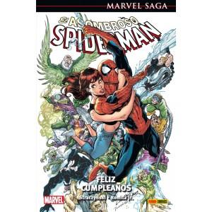 Marvel Saga 12. El Asombroso Spiderman 4 Feliz cumpleaños