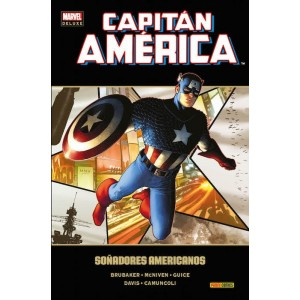Marvel Deluxe. Capitán América 14 Soñadores americanos
