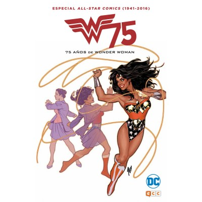All Star Comics (1941-2016): 75 años de Wonder woman