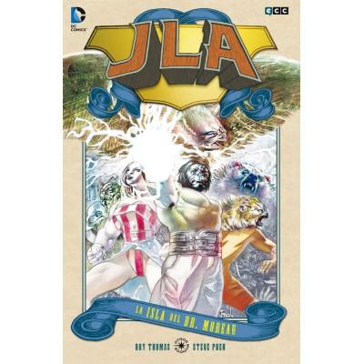 JLA: La isla del Dr. Moreau