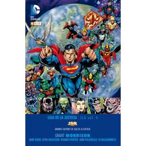 Grandes autores de la Liga de la Justicia: Grant Morrison - JLA núm. 04
