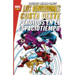 Los Vengadores Costa Oeste: Perdidos en el Espaciotiempo (Marvel Gold)