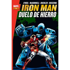 ron man duelo de hierro (Marvel Gold)