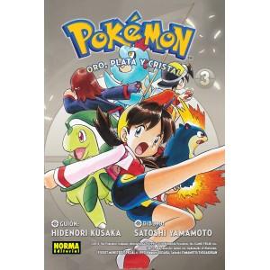 Pokemon nº 07: Oro, Plata y Cristal 03