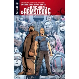 Archer & Armstrong 4 Guerra Civil en la Secta
