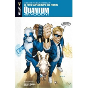 Quantum and Woody! 1El Peor Supergrupo del Mundo