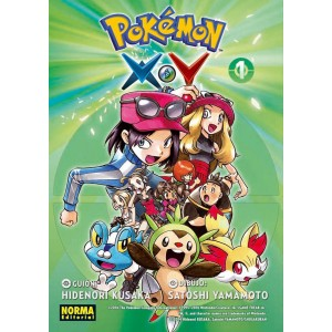 Pokemon X.Y nº 01