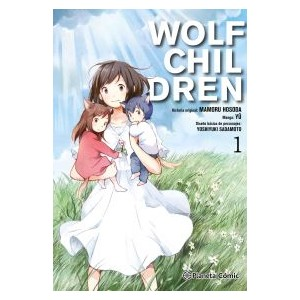 Wolf Children nº 01