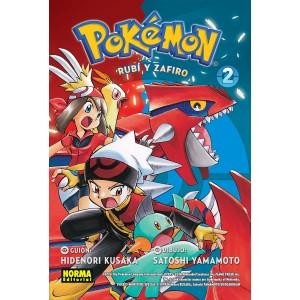 Pokemon nº 10. Rubi Y Zafiro 2