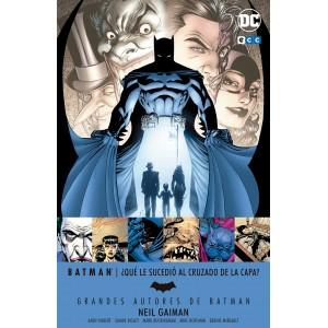 Grandes autores de Batman: Neil Gaiman - ¿Qué le sucedió al Cruzado de la Capa?