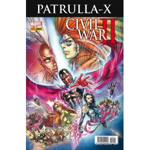 Civil War II Crossover 1 Patrulla-X