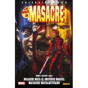 100% Marvel. Las Minis de Masacre 2 Masacre mata al Universo Marvel / Masacre matalustrado