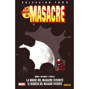 100% Marvel. Las Minis de Masacre 4 La noche del Masacre viviente / El regreso del Masacre viviente
