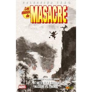 100% Marvel. Las Minis de Masacre 6 El arte de la guerra / Masacre Vs. Thanos