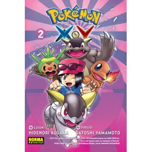 Pokemon X.Y nº 02