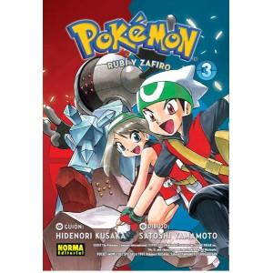Pokemon nº 10. Rubí Y Zafiro nº 03